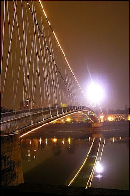 bridge in Osijek city