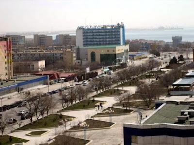 Aktau city