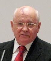 Michail Gorbatschow affected by Nevus flammeus