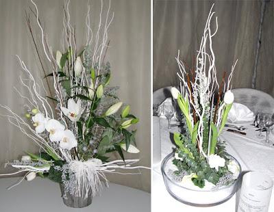 Décoration de salle et décoration florale sur le thème