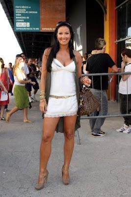 Celebridades Fazem A Moda No Fashion Rio