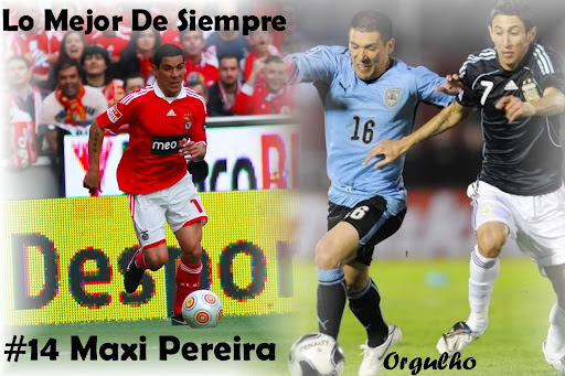 #14 Maxi Pereira