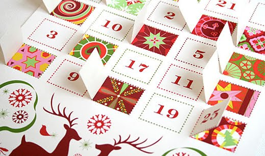 Typography Advent Calendar : Design inspiration advent calendar