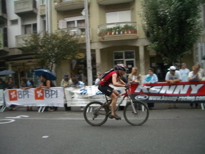 Nuno Marques a cortar a meta