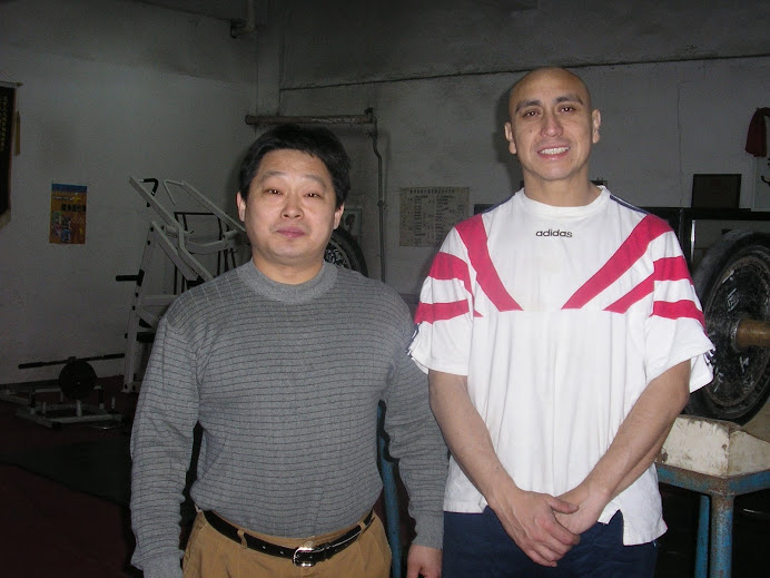 Ivan with Coach Chiu, gongti area Beijing