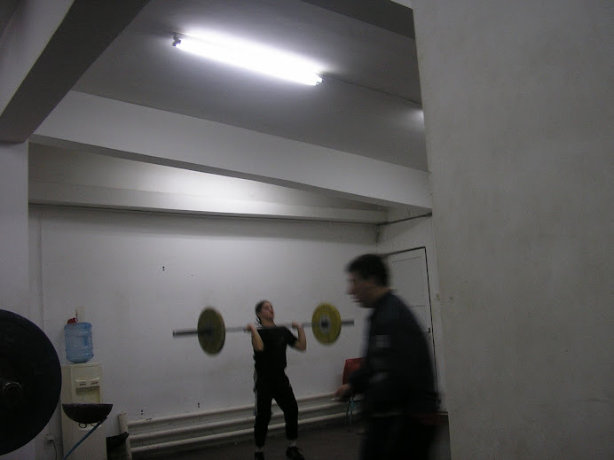 Lifters in Bucharest