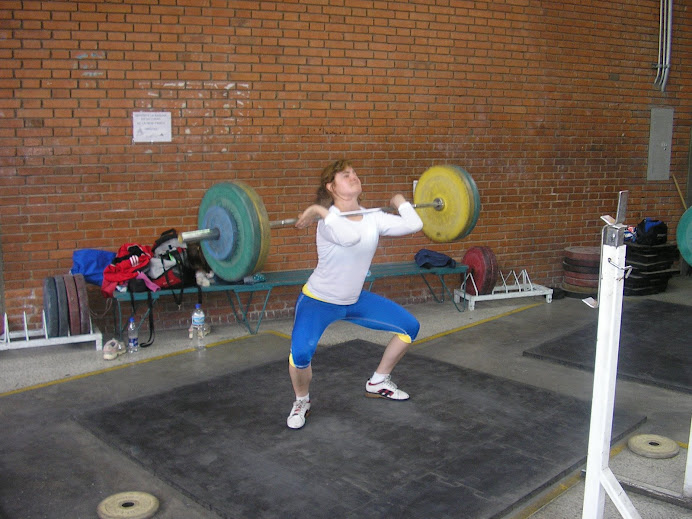 warming up power cleans