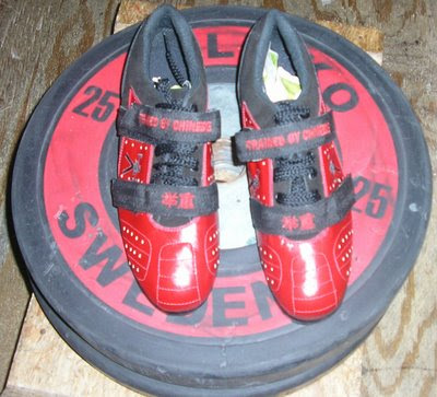 Custom Weightlifting shoe