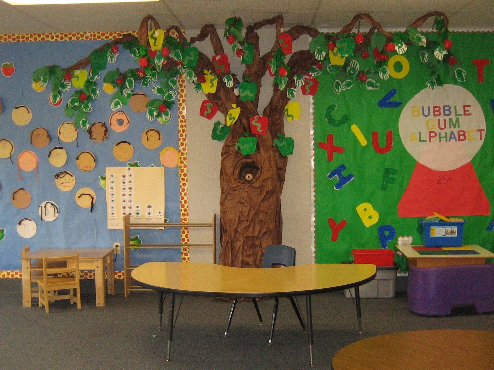 The richest of fare the classroom tree phase two for Apple tree classroom decoration