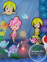 festa princesas do mar