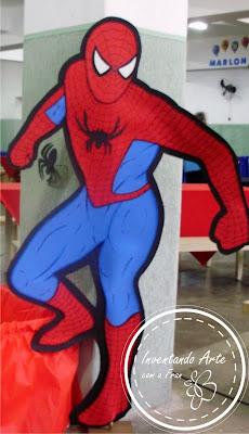 festa homem aranha EVA
