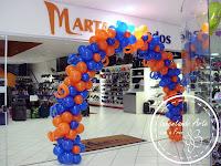 arco de balões marta calçados