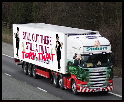Official Find Madeleine FB page takes over the Eddie Stobart page Twat