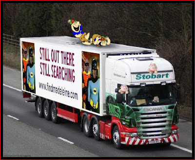 Official Find Madeleine FB page takes over the Eddie Stobart page Searching2
