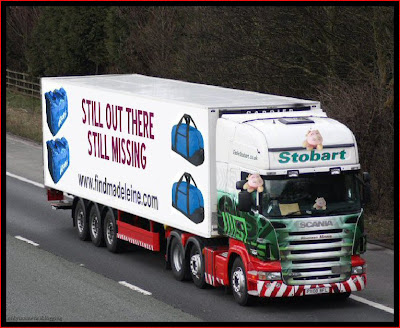 Official Find Madeleine FB page takes over the Eddie Stobart page Missing