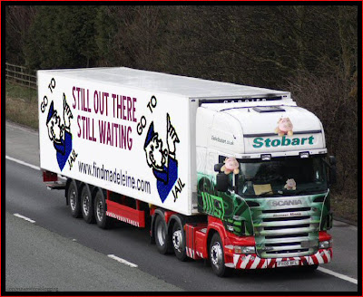Official Find Madeleine FB page takes over the Eddie Stobart page Jail