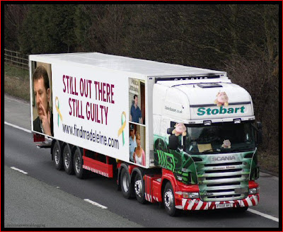 Official Find Madeleine FB page takes over the Eddie Stobart page Guilty