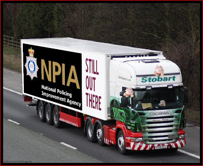Official Find Madeleine FB page takes over the Eddie Stobart page NPIA_takes_the_piss