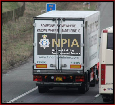 Official Find Madeleine FB page takes over the Eddie Stobart page Npia
