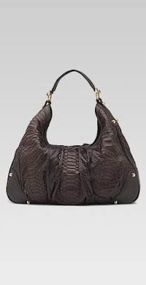 Gucci Jockey Leather Hobo Handbag