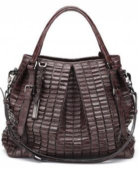 Burberry Lowry Designer Handbag