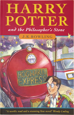 J K Rowling Harry Potter Philosopher's Stone First Edition Softcover