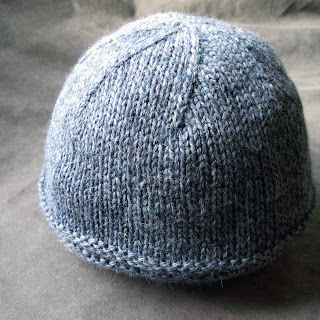 New Knitting Patterns : Bleu Arts: New Knitting Pattern: 3 Ribs Brim Boyfriend Hat