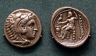 alexander silver coin
