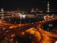 Sungai Nil Waktu Malam