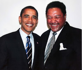 President Obama and our friend George Cushingberry Jr.