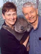 Grandma and Grandpa with a Koala