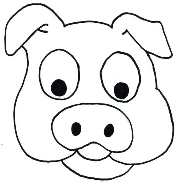 Line Drawing Of A Pig Face : Pig head top hd wallpapers