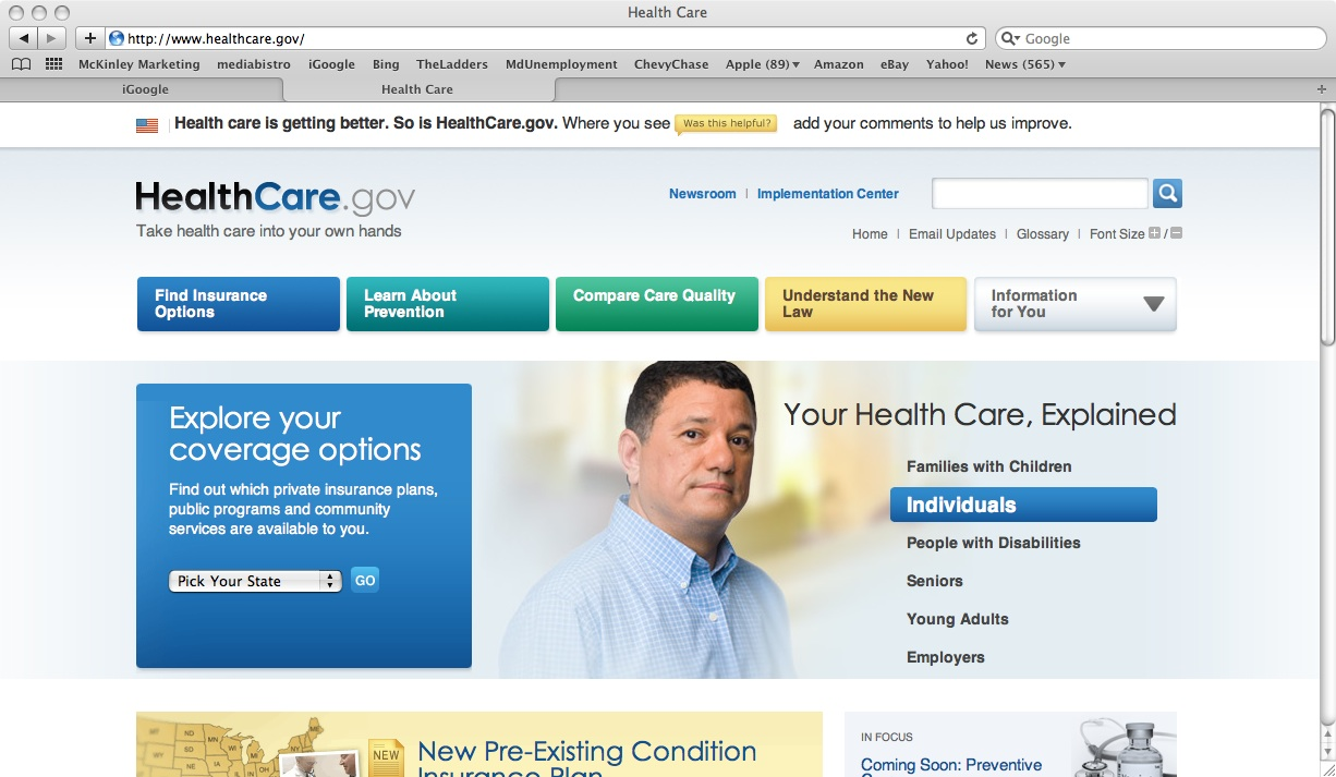 Seize The Day Off Health Insurance Options