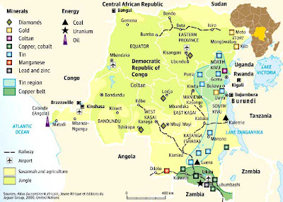 Democratic Republic Of Congo Economy Natural Resources