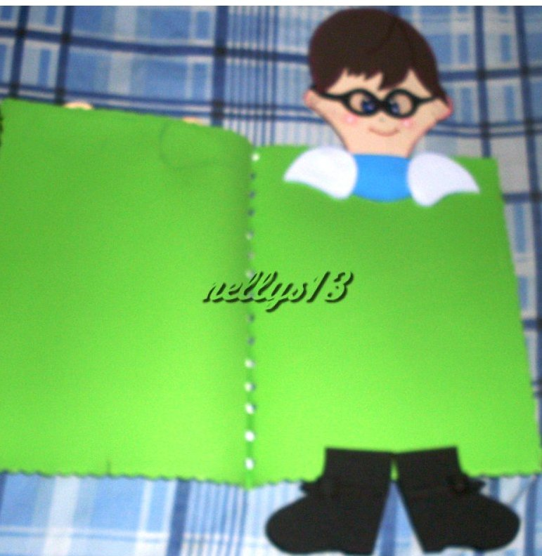 Las muñecas de Nellys...magia y encanto en foami.: Carpetas