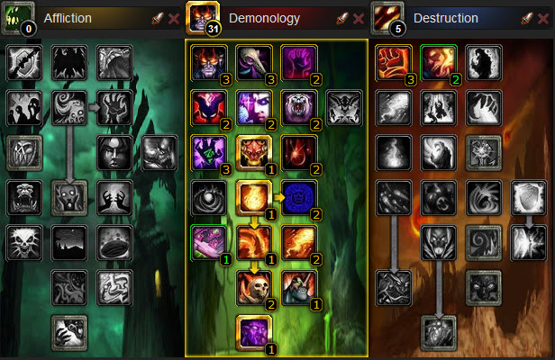 warlock talent affliction.