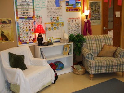 how to seperate sleep areas from play areas in childcare