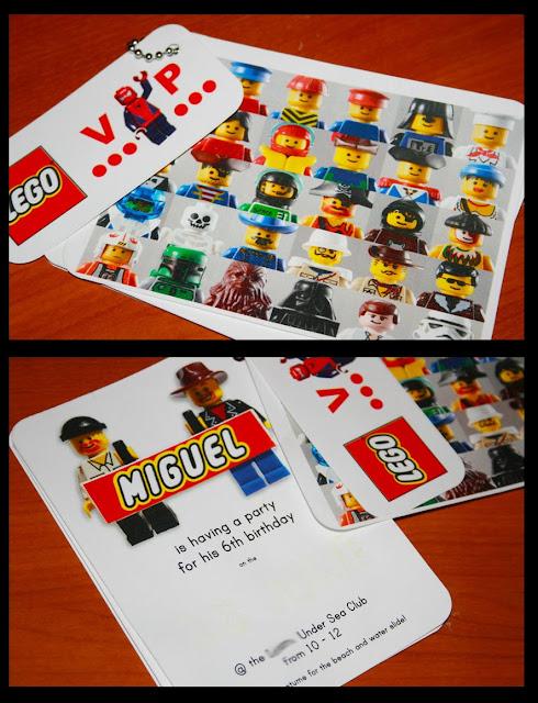 すべての折り紙 折り紙 おもてなし : LEGO Birthday Party Printables
