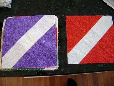 Northern Deb Quilts: Making a quilt from 6 inch charm squares
