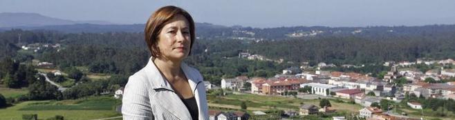 Carmen Cajide, unha muller de Cuntis