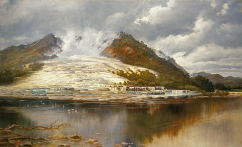 New Zealand's Pink and White Terraces, were considered a natural wonder
