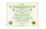 Mozete dobiti certifikat o zavrsenom kursu: