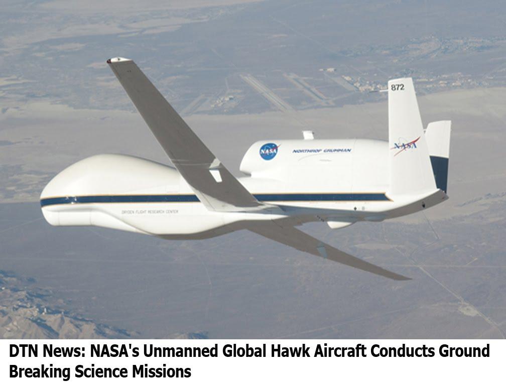 NASA Global Hawk Aircraft - Pics about space