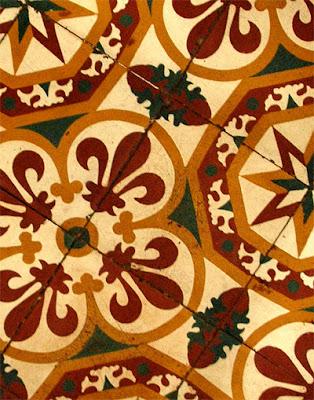 Cambodia: Floor Tiles