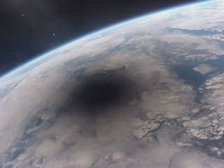 Eclipse desde la ISS