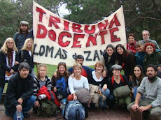 TRIBUNA DOCENTE LOMAS DE ZAMORA
