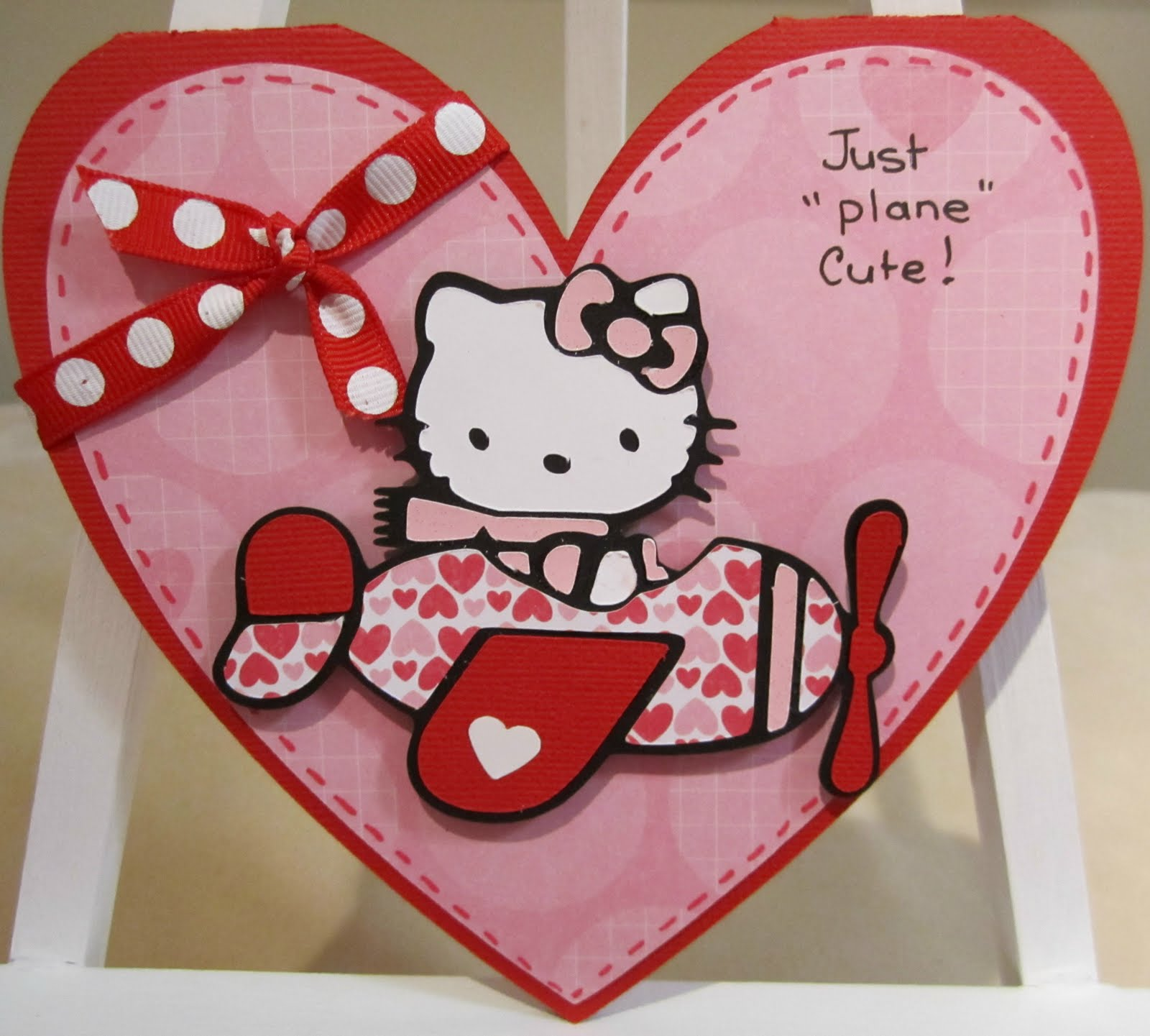 Confessions Of A Scrapaholic 8 Hello Kitty Greetings Just Plane