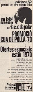 """Promoció """"Cua de Palla"""" - 70"""