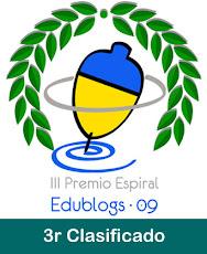 Ganamos el tercer premio Espiral en 2009