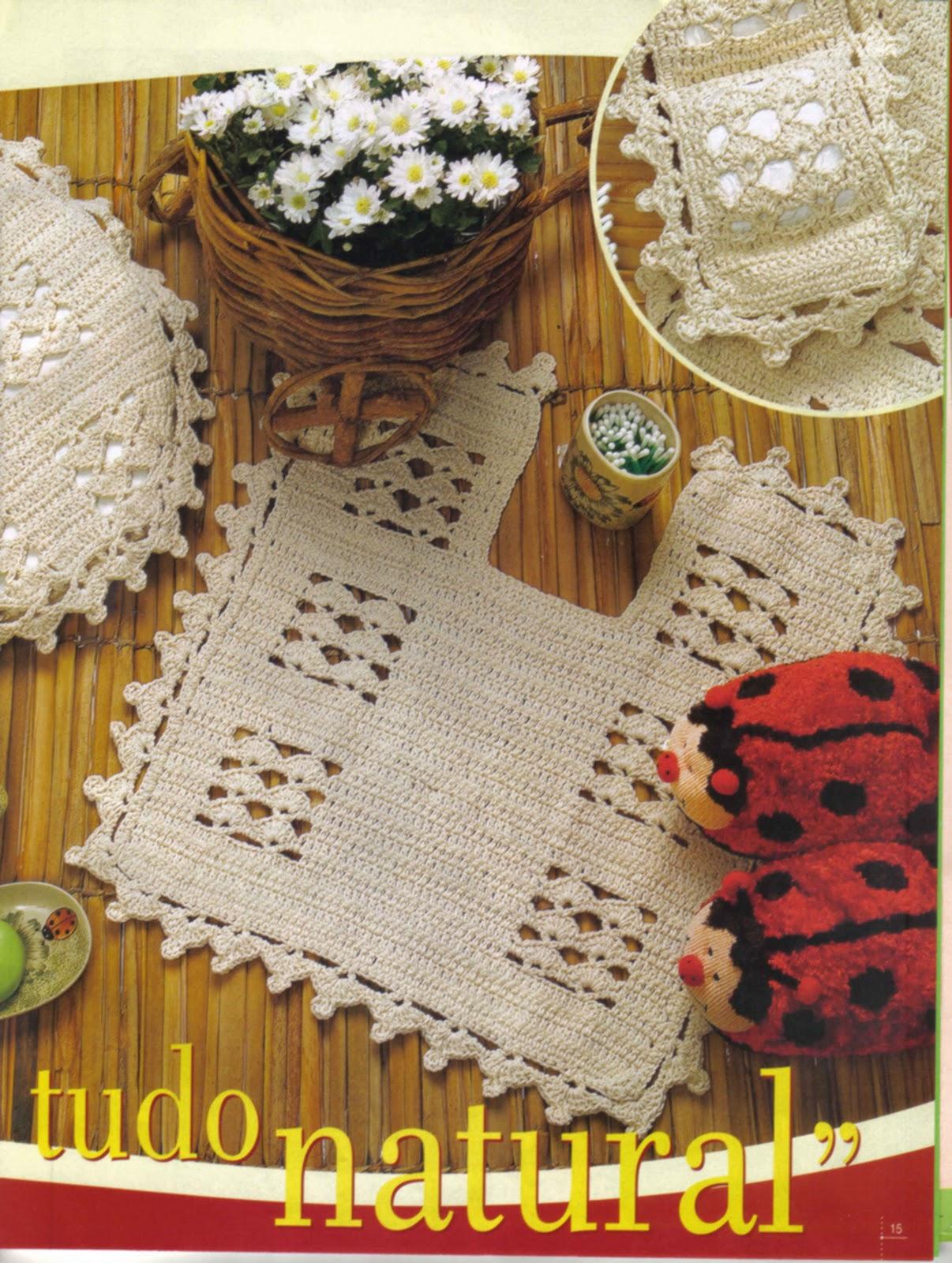 : Conjunto Banheiro em Crochê Modelo Simples e Bonito Gráficos #B5A916 1206x1600 Banheiro Bonito Simples